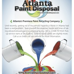 Atlanta Paint Disposal