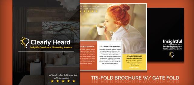Tri-Fold Brochure With Gate Fold