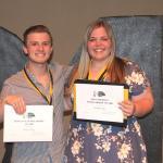 2018 Kudzu Playhouse Scholarship Winners, Riley Young and Ireland Little
