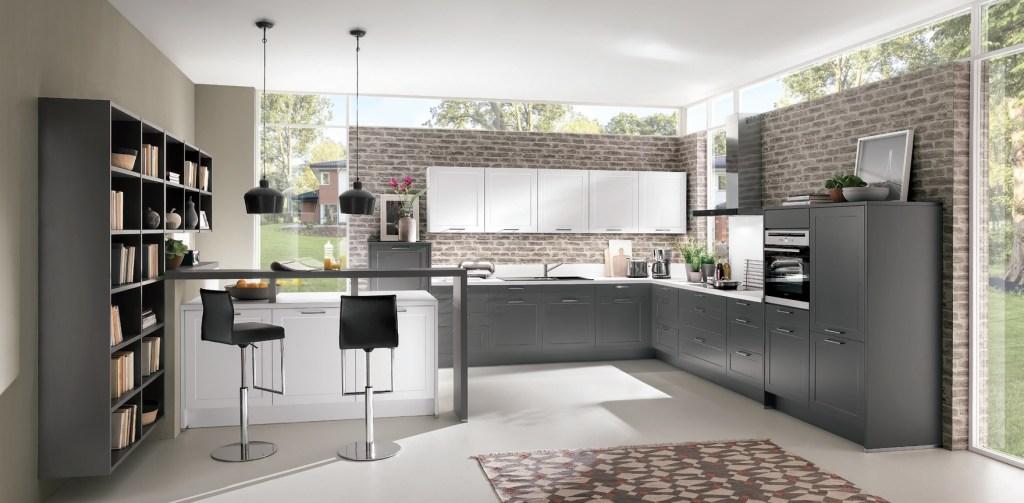 L-Küche 3 - Modell Schlossgarten
