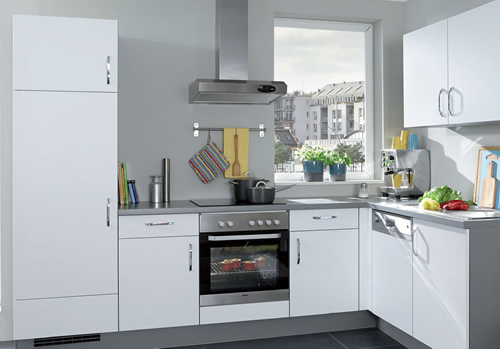 L Küche 1   Modell Lindeneck