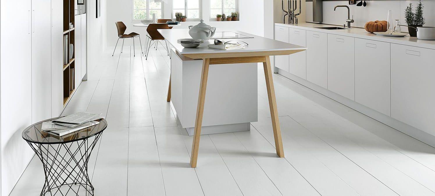 Der Kochtisch Von Next125 Minimalistisch Wie Der Bauhaus Stil