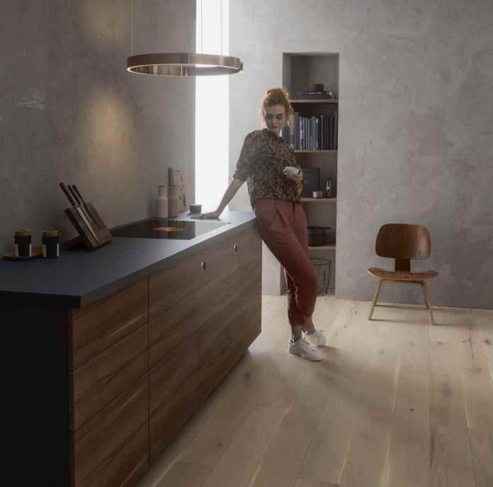 Adapts to the customer's surroundings - and not the other way around: the color of the new BORA Pure can be elegantly matched to the kitchen ambience and the personal preferences of the user.  At the same time, it enables a high degree of efficiency.  (Photo: BORA)