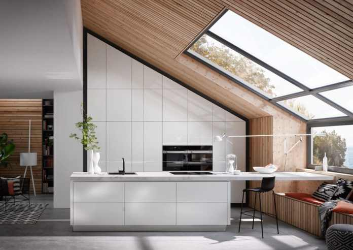 Kitchen studios can also have custom-made products made possible by a large network of craftsmen with whom you work. However, it is far more complex than in a carpentry. (Photo: Systemat)