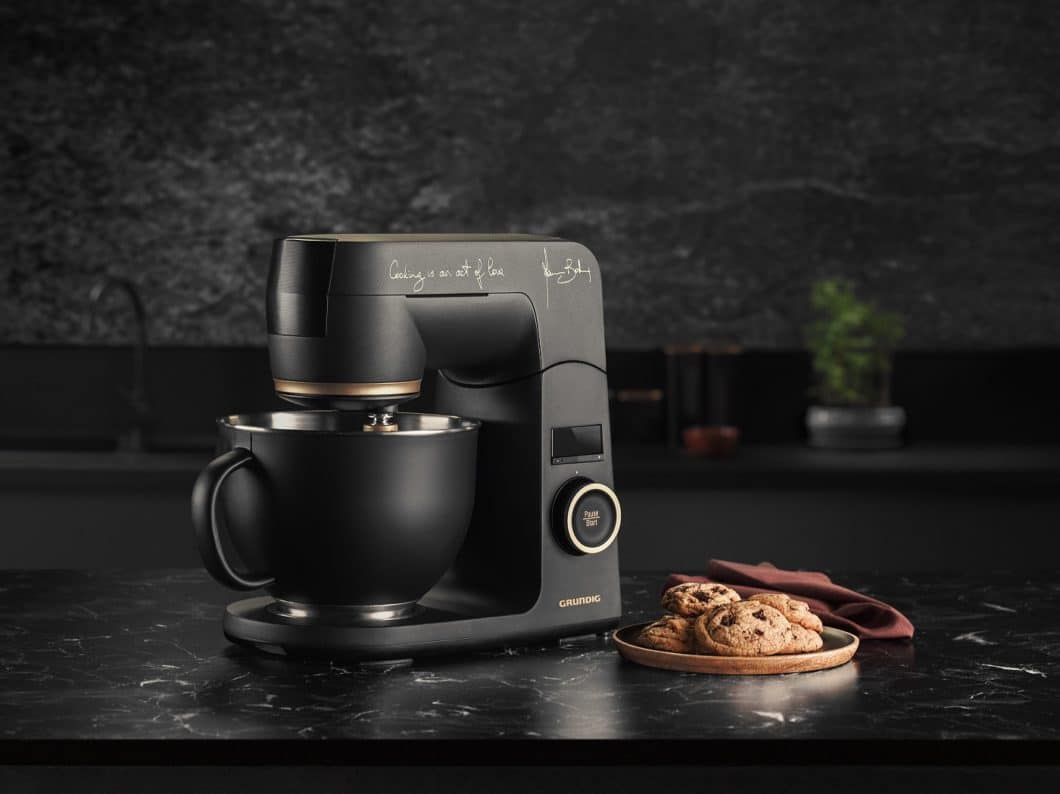 The beautiful food processor contains a sophisticated planetary stirring system. (Photo: Grundig)