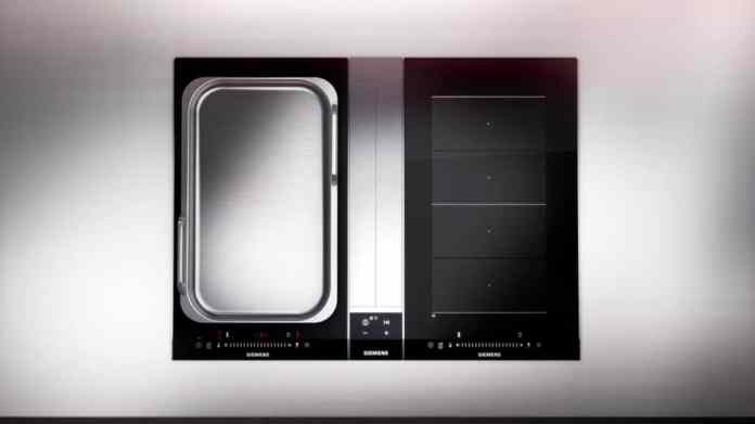 While Siemens and Bosch Hausgeräte have so far increasingly relied on modular teppanyaki (with handles), other companies such as BORA or Gaggenau have long since discovered the luxurious desire for professional cooking. (Photo: Siemens household appliances)