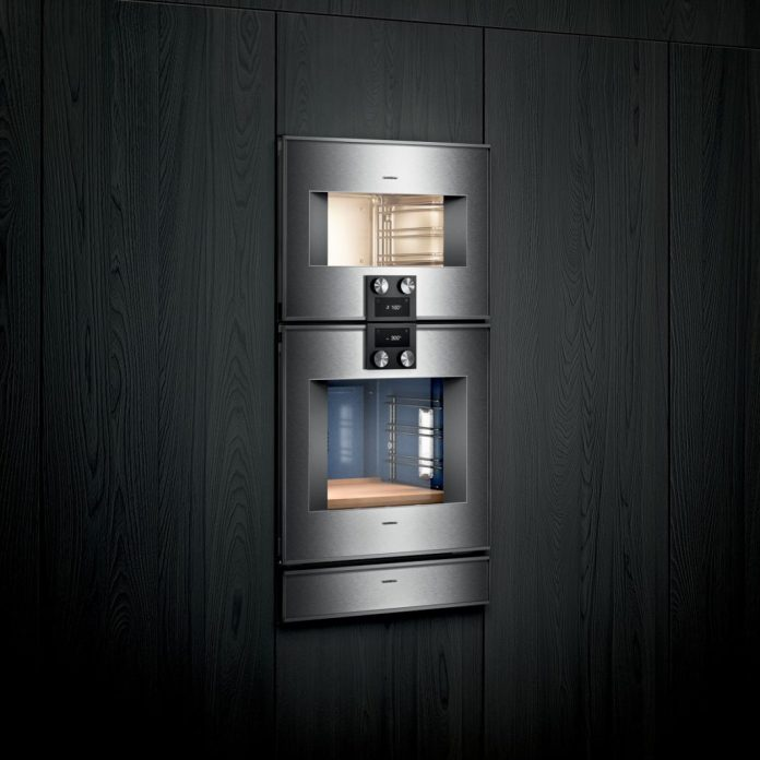 As an alternative to the thermaliser: Many high-quality steam ovens are now equipped with a sous-vide function. (Photo: Gaggenau)