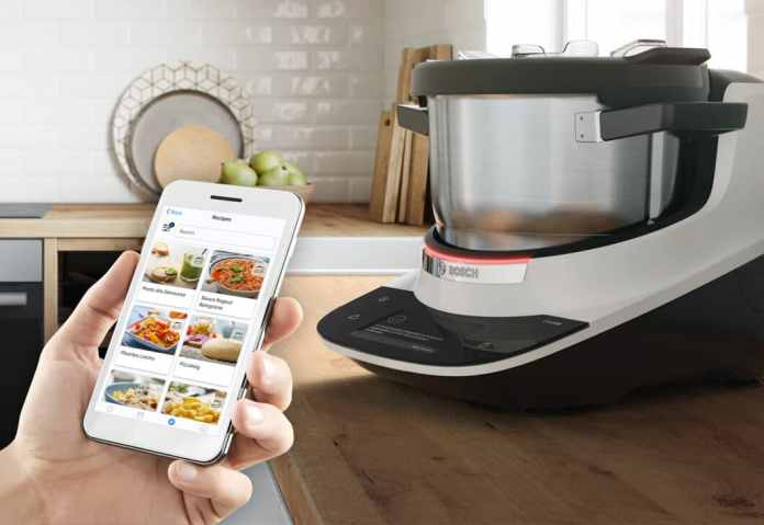 Bosch has created a smart ecosystem around the Home Connect app: anyone who connects the Cookit with the app has access to many intelligent functions. (Photo: Bosch)