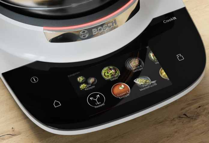On the Cookit, 140 categorized recipes are preset in three levels. (Photo: Bosch)