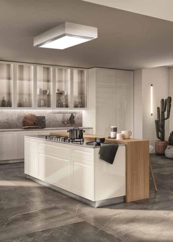 Scavolini relies on environmentally friendly kitchen production and sustainable materials.  This is also popular with young buyers.  (Photo: Scavolini - Carattere)