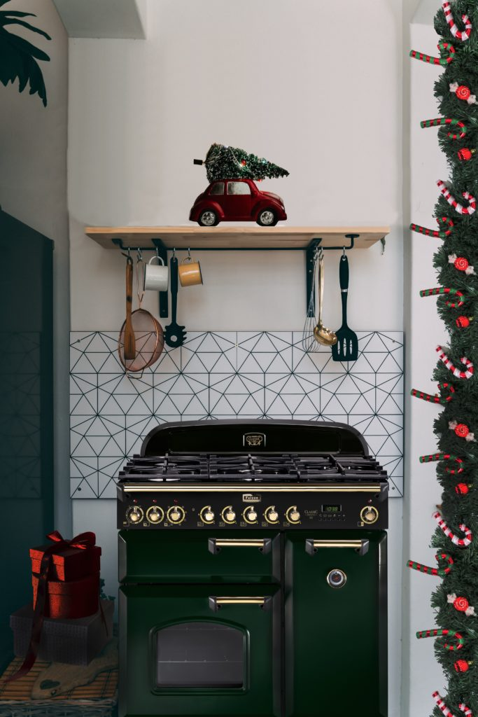 Range Cooker from Falcon: nostalgic design combined with the latest technology.  (Photo: Falcon)