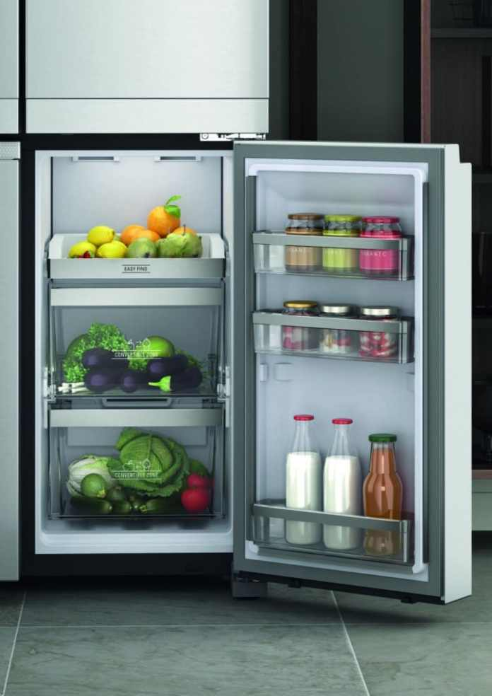 "The ""convertible zone"" six different temperature settings can be made - and can be converted from freezer to refrigerator in no time at all.  (Photo: Bauknecht)"