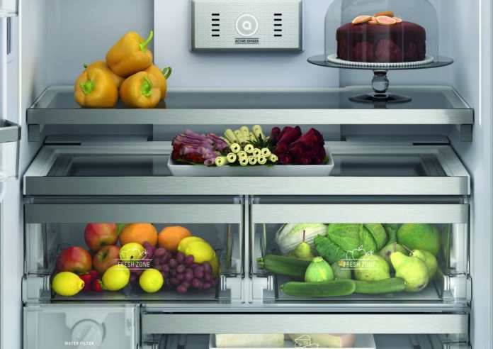 "With the ""Fresh Zones"" Bauknecht promises that even sensitive foods such as fruit and vegetables stay fresh up to 15 times longer.  (Photo: Bauknecht)"
