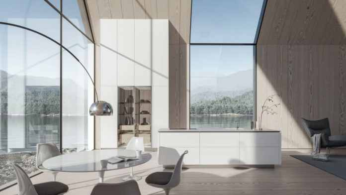 What should stay: SieMatic's line-up as an elegant premium brand.  What is coming: the opening to the living area and the sense of well-being of a digital generation that feels a desire for luxury and value.  (Photo: SieMatic)