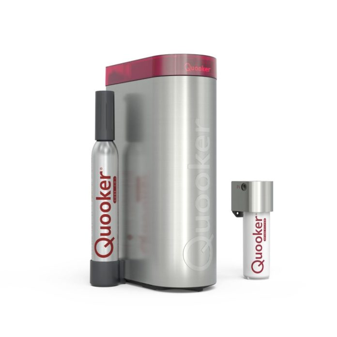 The new Quooker CUBE Next Generation is in the starting blocks.  (Photo: Quooker)