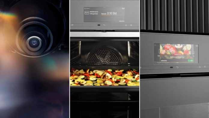 Miele is watching you: using the Smart Food ID, the oven is automatically set to the required temperature and cooking time for the dish.  (Photo: Miele)