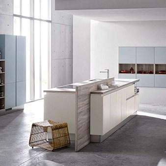 brigitte küche in hellblau pastell