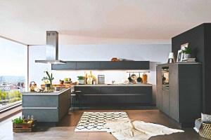 Preiswert Graue Küchen kaufen größte Auswahl   Küchenbörse ...