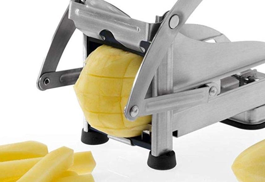 Pommesschneider frische Kartoffeln