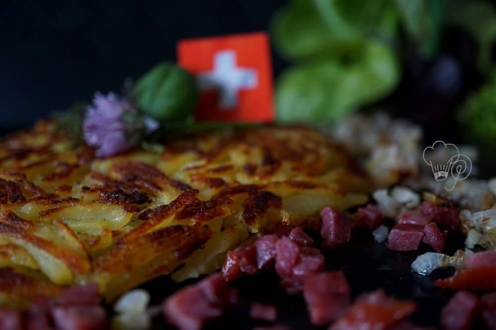 Schweizer Kartoffelrösti