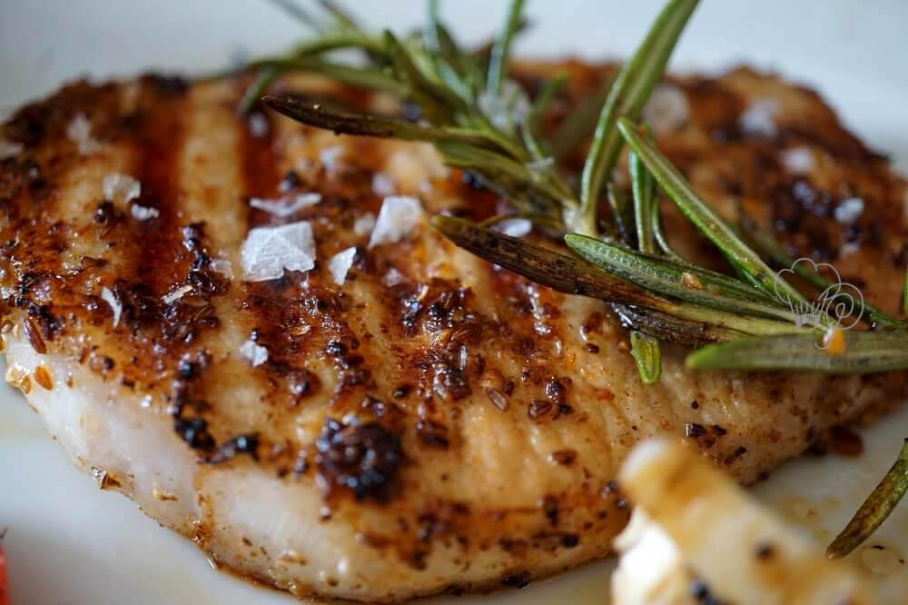 mariniertes Steak mit BBQ Rub
