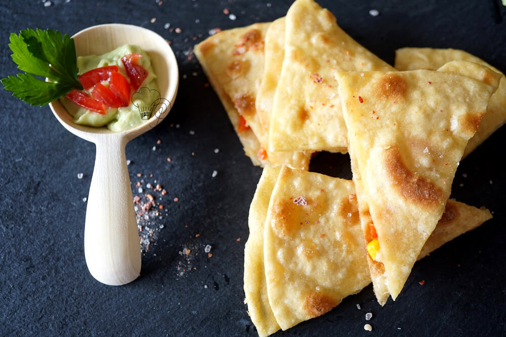 Quesadillas – Halbzeitsnack Mexiko