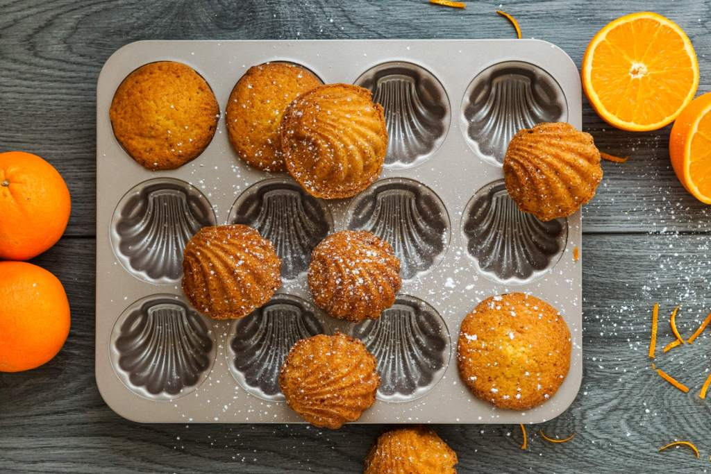Madeleines mit Orange
