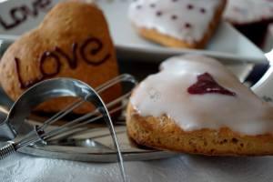 Quarkölherzen – Aus Liebe zum Backen