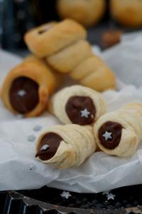 Cappuccinotüten für das Silvester-Buffet