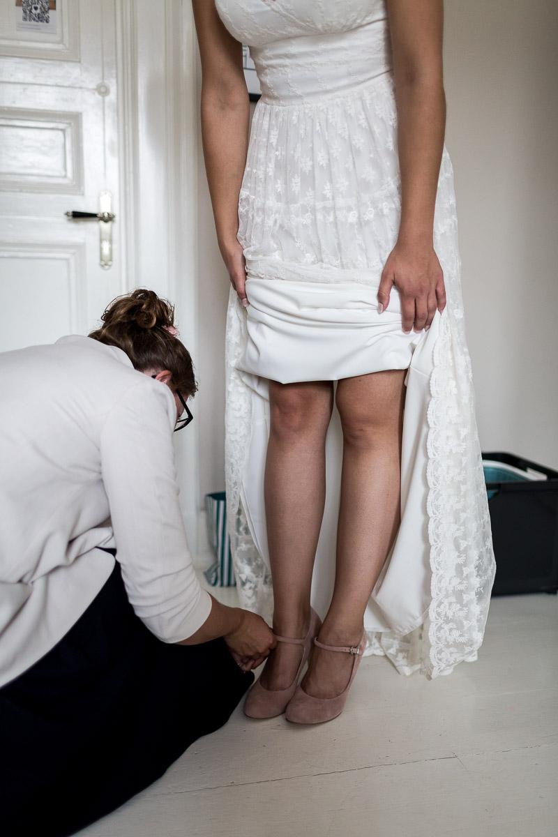 Hochzeit auf Gut Bliestorf Getting Ready