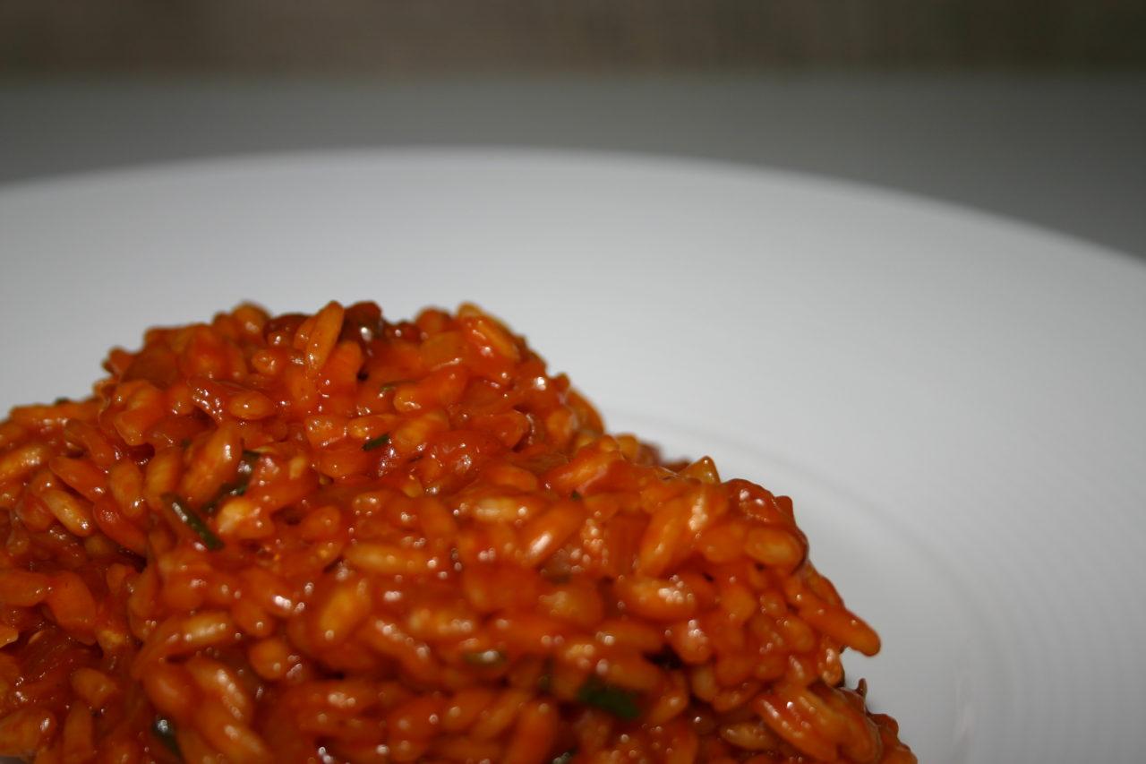 Le risotto rouge