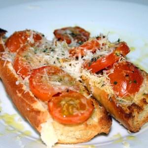 Tartines de tomates express !