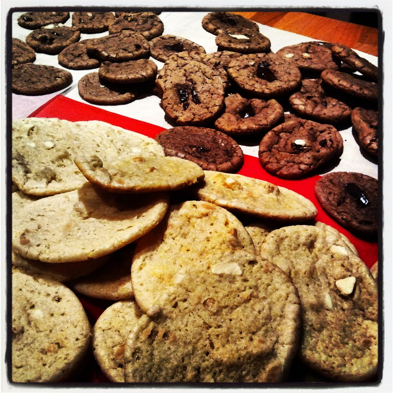 Cookies Chocolat blanc cacahuètes
