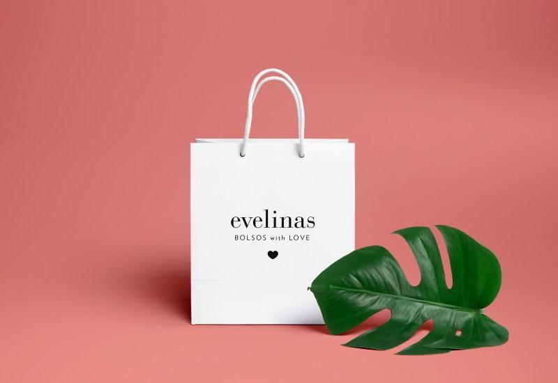 diseño grafico de la identidad evelinas