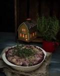 DIY joulukalenteri - Luukku 12: Jouluinen punajuuri -aurajuustolaatikko