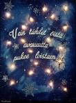 DIY joulukalenteri - Luukku 7: Miian jouluinen valotaulu