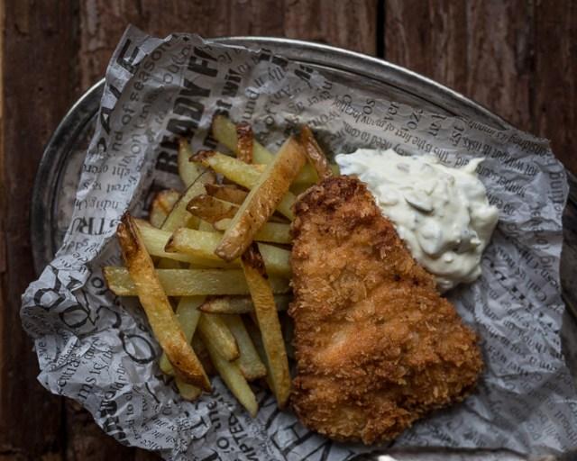Fish and chips | ranskalaiset perunat | paneroitu kala | resepti | tartar-kastike