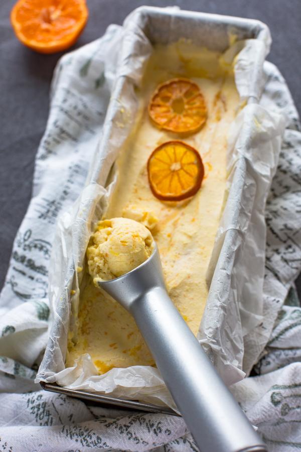 klementiinijäätelö | jäätelö | joulu | jälkiruoka