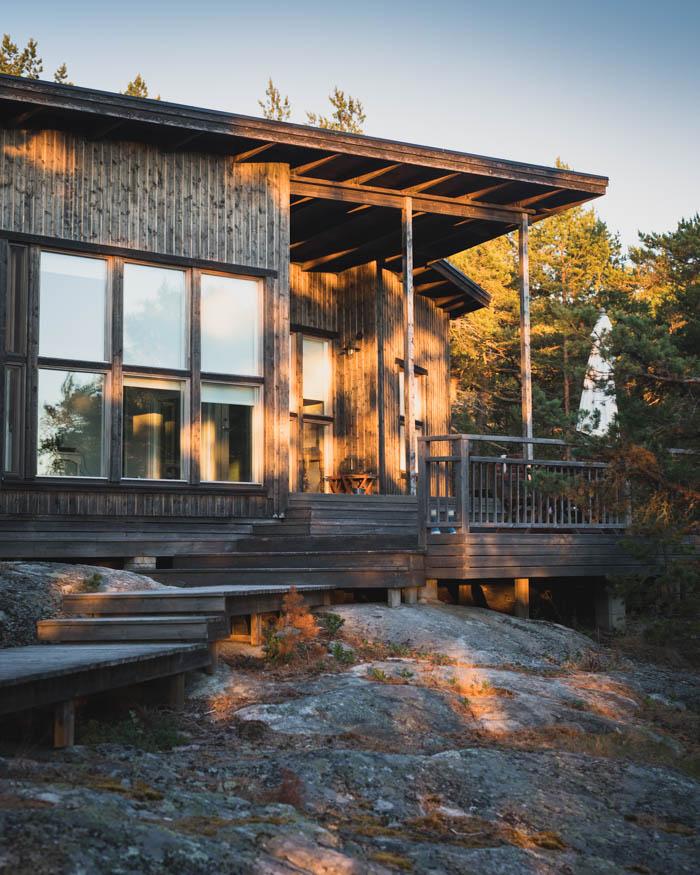 Mökki saaristossa | mökkiloma | vuokramökki | Villa Juthamn