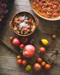 Tomaattipasta tuoreista tomaateista