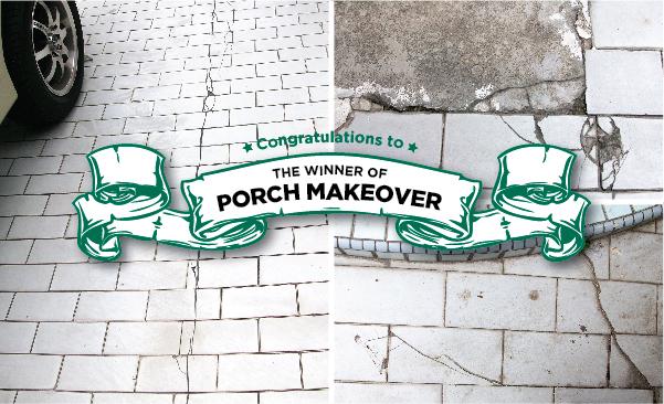 pemenang porch makeover mml