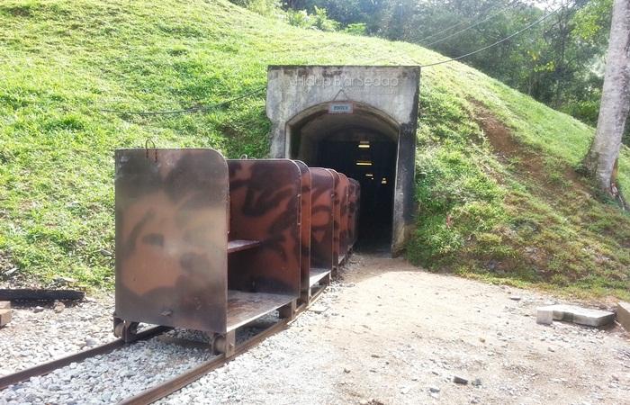 lombong bawah tanah sungai lembing