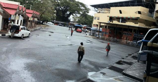 Bas Kayu Bas Bandar Kuala Terengganu