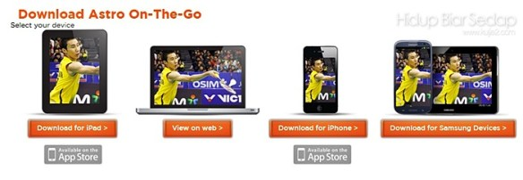 download astro on the go