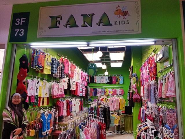 kedai pakaian kanak-kanak di GM Klang