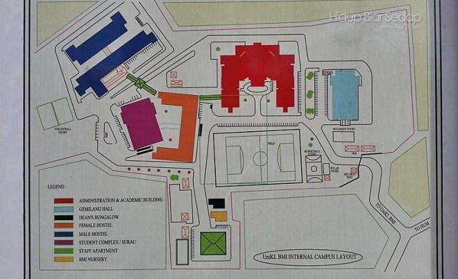 lokasi UniKL MBI