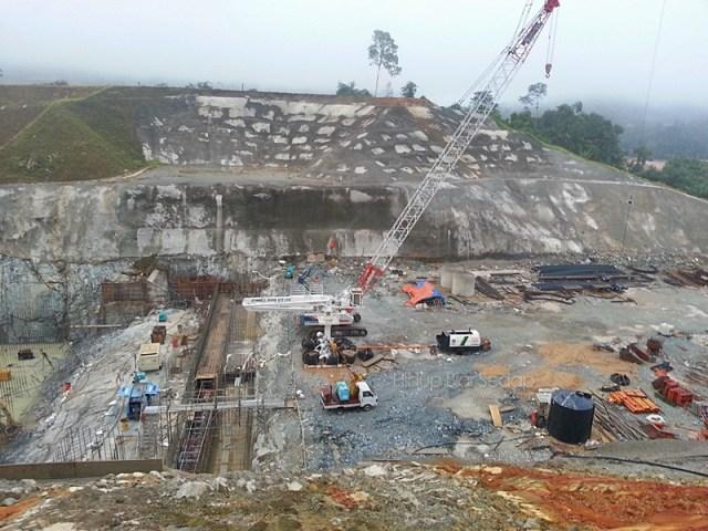 pembinaan empangan hidroelektrik hulu terengganu