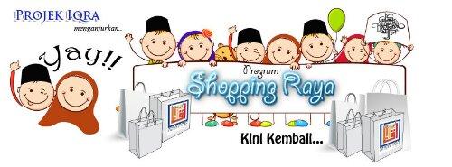 Mereka Bersama Projek Iqra' Shopping Raya 2013