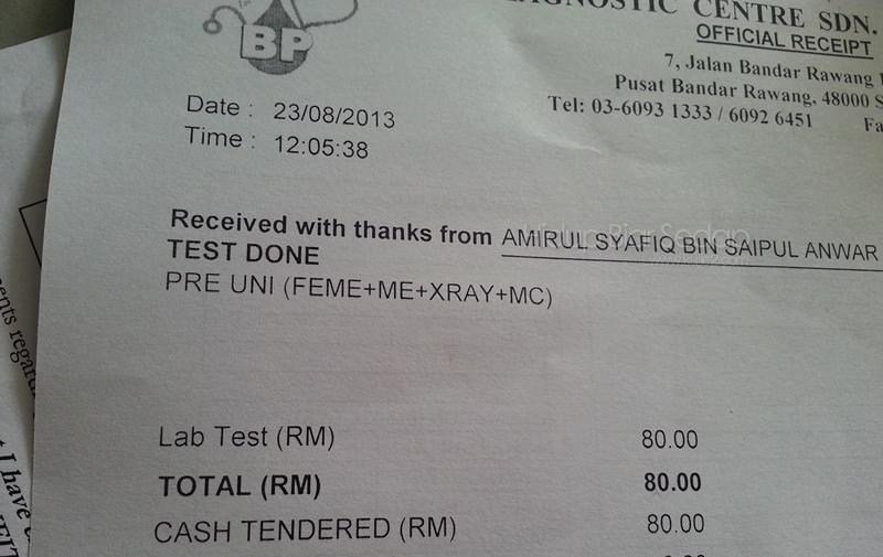 medical check klinik swasta