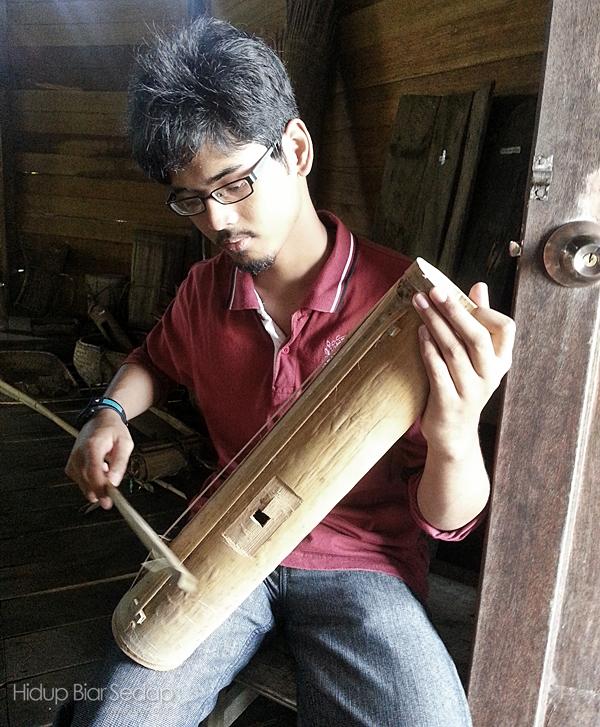 alat muzik tempatan bidayuh